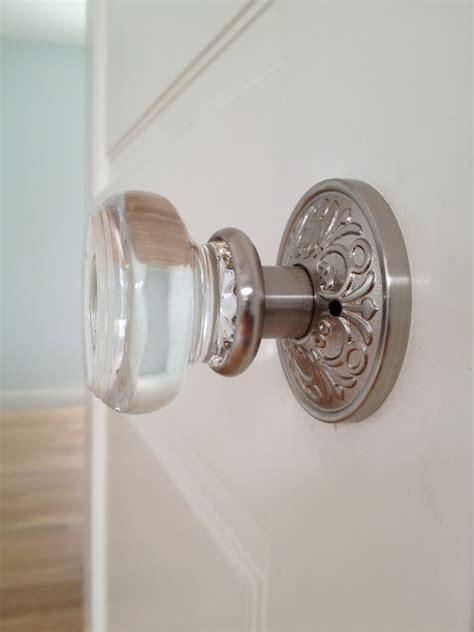 glass cabinet door knobs glass door knob by emtek mediterranean hall miami