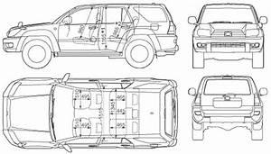 Auto Toyota 4runner 2005  Hilux Surf    Bild Bild Zeigt