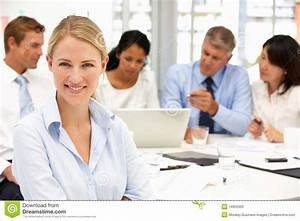 Recruitment fice Meeting Royalty Free Stock Image