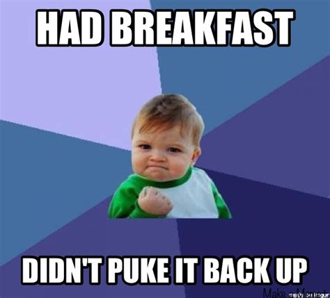 Morning Sickness Meme - second trimester archives notes from the s life
