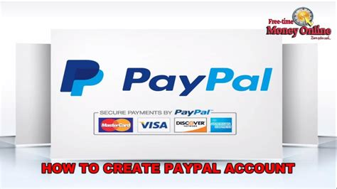 How To Create A Paypal Account Without Credit Or Debit Card Youtube