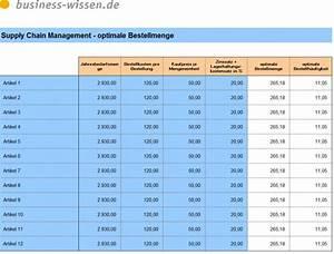 Excel Tabelle Berechnen : optimale bestellmenge i download business ~ Themetempest.com Abrechnung