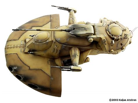 Trade Federation Tank by Kagan Atsuren (AMT 1/32)