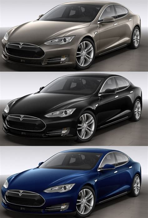 tesla model s colors tesla model s 70d in new warm silver color