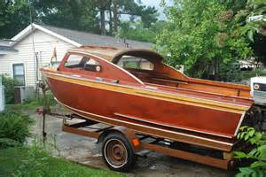 Old Wooden Speed Boats For Sale