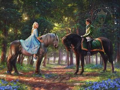 Cinderella Kinkade Thomas Romance Awakens Limited Edition