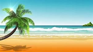 Hippie Bus Surfing Beach Summer Wave Graphics Animation ...