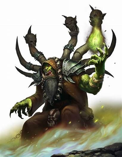Gul Dan Warcraft Character Fanart Wowwiki Legion