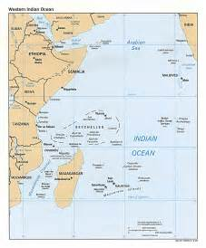 Somali Pirates Get More Than They Bargained for » seychelles map Seychelles