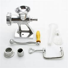 Manual Meat Grinder Mincer Table Hand Crank Tool For