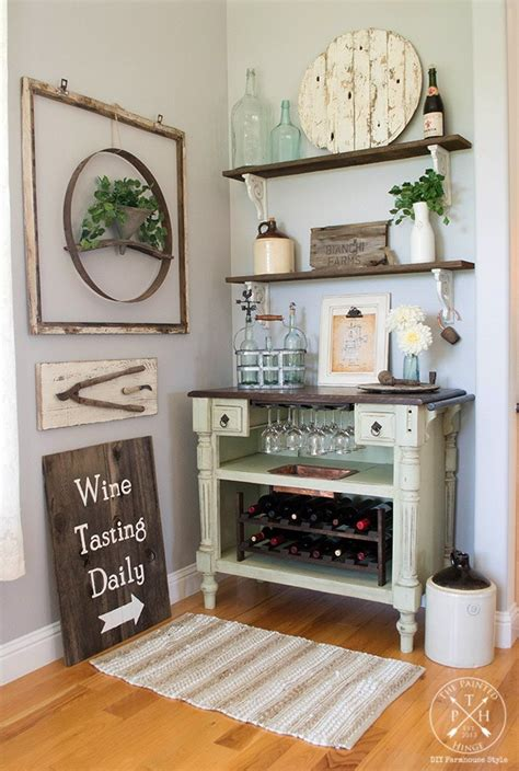 beat  cabinet transformed   wine bar