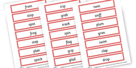 Words & Vocab Primary Resources, Literacy