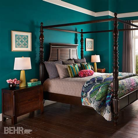 Bedroom Color Schemes With Teal by Dreams Colors Will Transform A Bedroom Into A