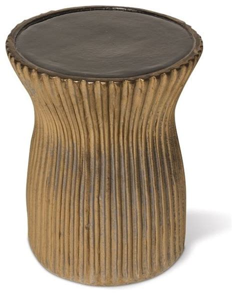ceramic outdoor stool accent and garden stools chicago