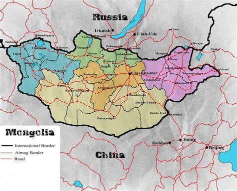 map  mongolia mongolian blue sky pinterest mongolia