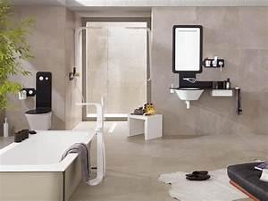 carrelage salle de bain gris fonce With carrelage mural salle de bain porcelanosa