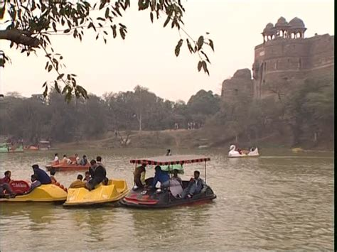 Pedal Boat India by Lake Pedal Boat Delhi India Sd Stock 892 794