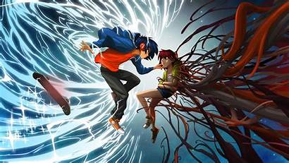 Gamer Anime Wallpapers Boy Lost Harmony Skateboard