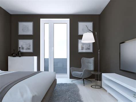refaire sa chambre à coucher peinture gris bleu pour chambre