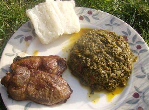 cuisine senegalaise saka saka recette typique du congo