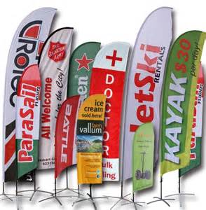 Promotional Flags and Banners