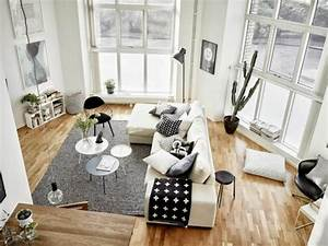 83 photos comment amenager un petit salon archzinefr With tapis de sol avec canapé d angle osier
