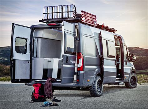 heavy duty bed fiat ducato 4x4 expedition cer