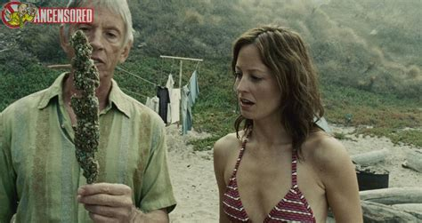 Naked Alexie Gilmore in Surfer, Dude