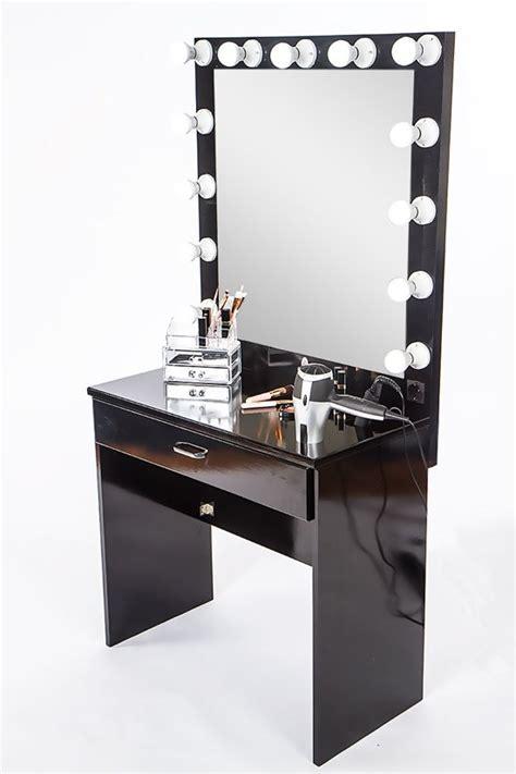 toilettafel tweedehands bol hollywood kaptafel met licht kleur zwart