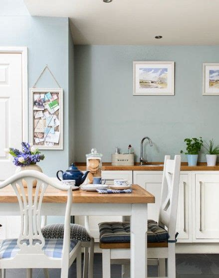white cabinets blue walls need country kitchen decorating ideas take a look at this 809 | 8214fe562a2000440c9224481672ef24