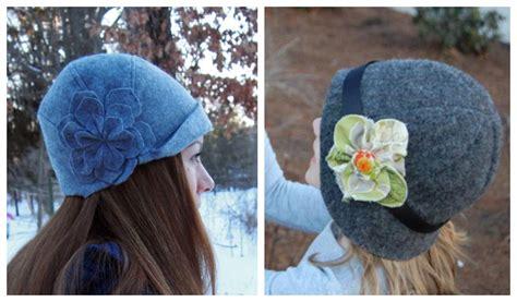 diy cloche hat  sewing patterns fabric art diy