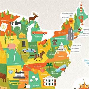 united states map wall decal walldecalscom With awesome united states map wall decal