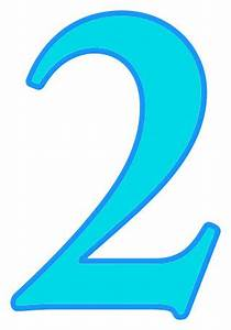 number 2 cyan - /signs_symbol/alphabets_numbers/color ...  2