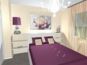 Chambre Parentale Romantique : une chambre douce et romantique ~ Premium-room.com Idées de Décoration