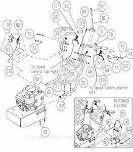 Billy Goat Bc2600hh Parts Diagram For Handle Assembly