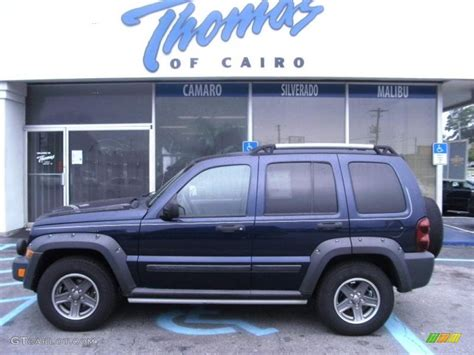 jeep renegade dark blue 2006 midnight blue pearl jeep liberty renegade 34643607