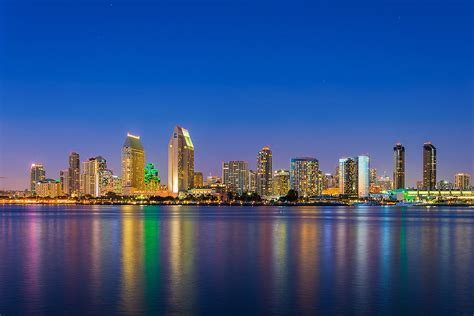 Of San Diego by San Diego Tours San Diego City Lights At