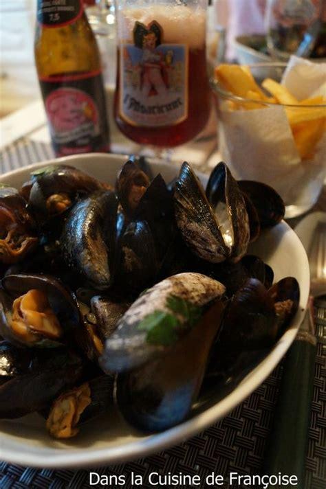 moules  la marinieres dans la cuisine de francoise