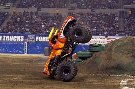 monster truck show indianapolis indianapolis indiana monster jam january 24 2009