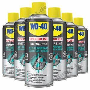 Wd 40 Kettenspray : 6x wd 40 kettenspray specialist motorbike serie 400ml ~ Jslefanu.com Haus und Dekorationen