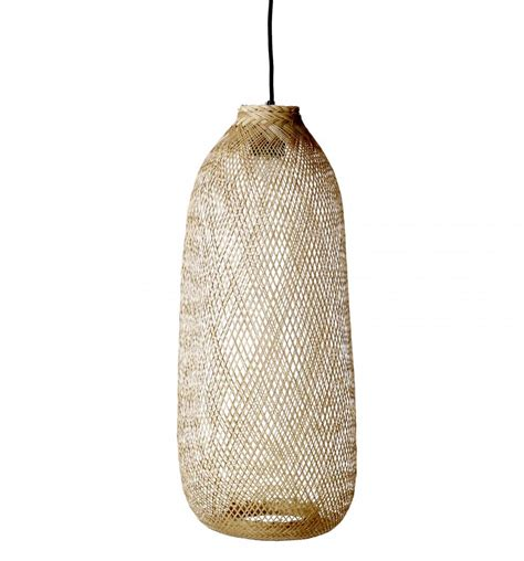 Living Room Furniture Covers by Suspension Lamp Bamboo Natural 216 24xh65cm