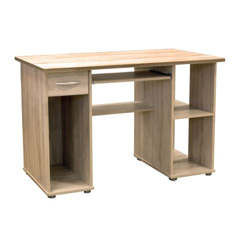 light oak computer desk woodland light oak computer desk
