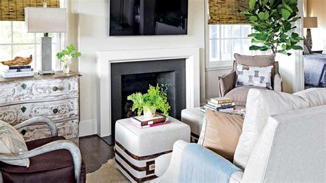 Southern Living Small Living Rooms by The Living Room Serene Lakefront Hideaway Southern Living