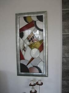 Tableau Metal Design : vitraux panneaux d coratifs genevi ve vallon ~ Teatrodelosmanantiales.com Idées de Décoration