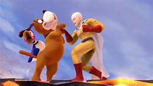 Saitama Super Smash Bros For Wii U Skin Mods