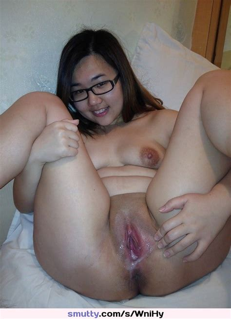 Asian Pussy Amateur Shaved Naked Glasses