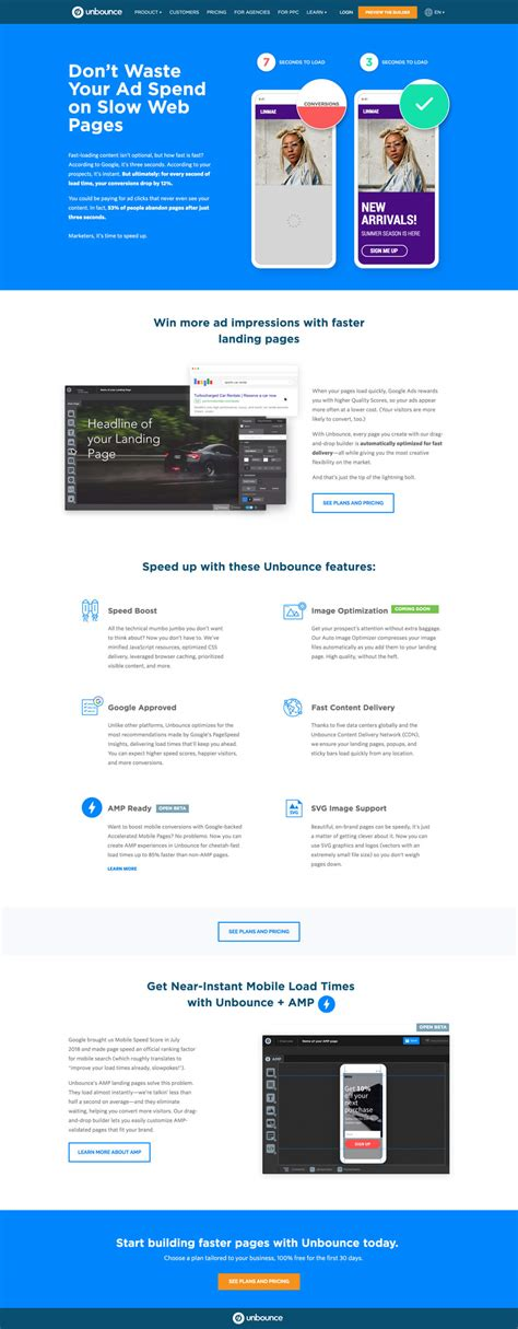 The Best Landing Page Design Examples Inspire Your Next