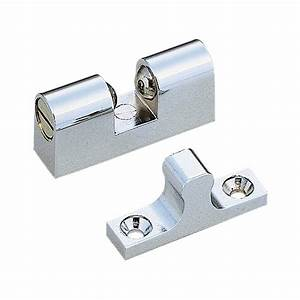 shop sugatsune chrome cabinet catch at lowescom With cabinet door latches lowes