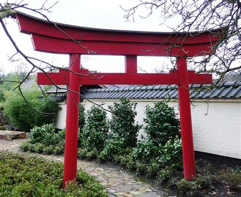 Japanisches Tor Bausatz by Torii Aus Holz Shop Japan Gardens Design
