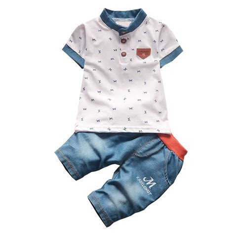 Infant Clothes by Bibicola Baby Boys Summer Clothing Sets Infant Clothes